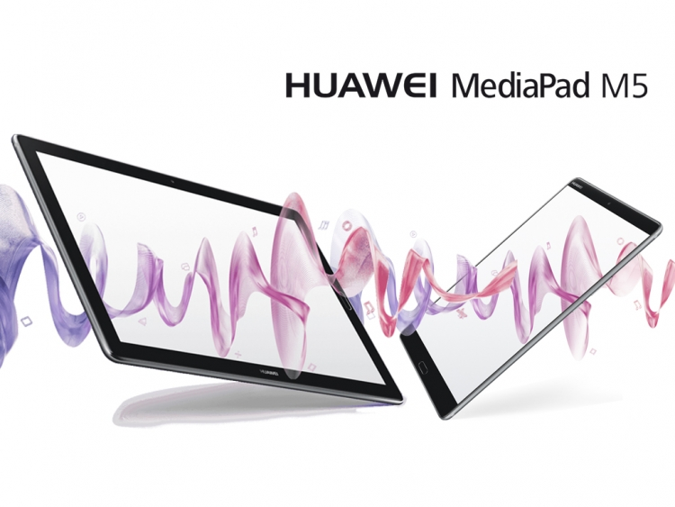 Huawei MediaPad M5 Android tablet series focuses on high-quality entertainment
