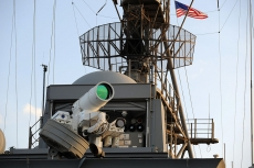 US navy deploys lasers