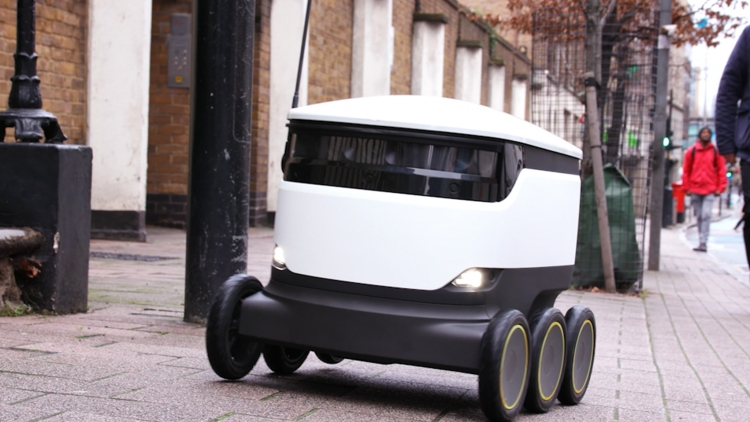 Starship starts commercial roll-out of robot delivery services