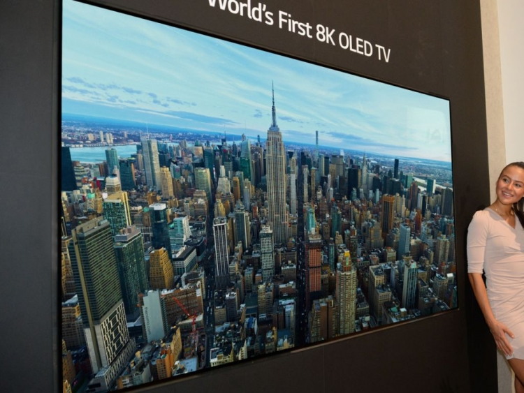 LG brought to IFA 2018 the world's first 8K OLED TV