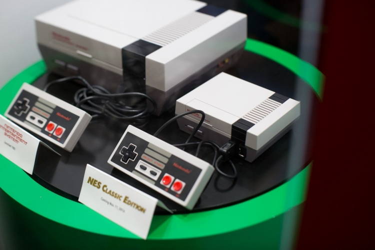 NES Classic mini console outsells PlayStation 4, Switch