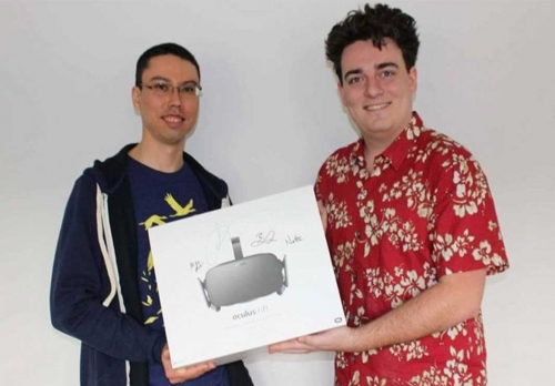 First Oculus delivered by company's CEO