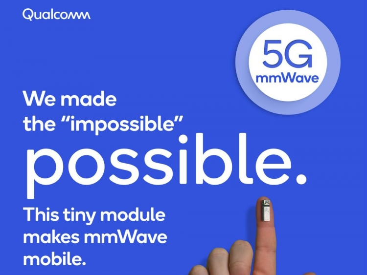 Qualcomm Unveils First mmWave and Sub-6GHz 5G Antennas for Smartphones