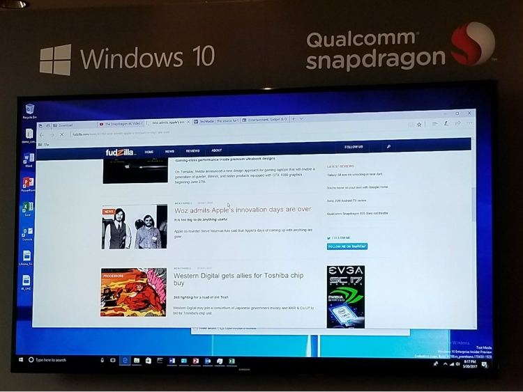 Asus, HP, Lenovo to Make Snapdragon Windows PCs