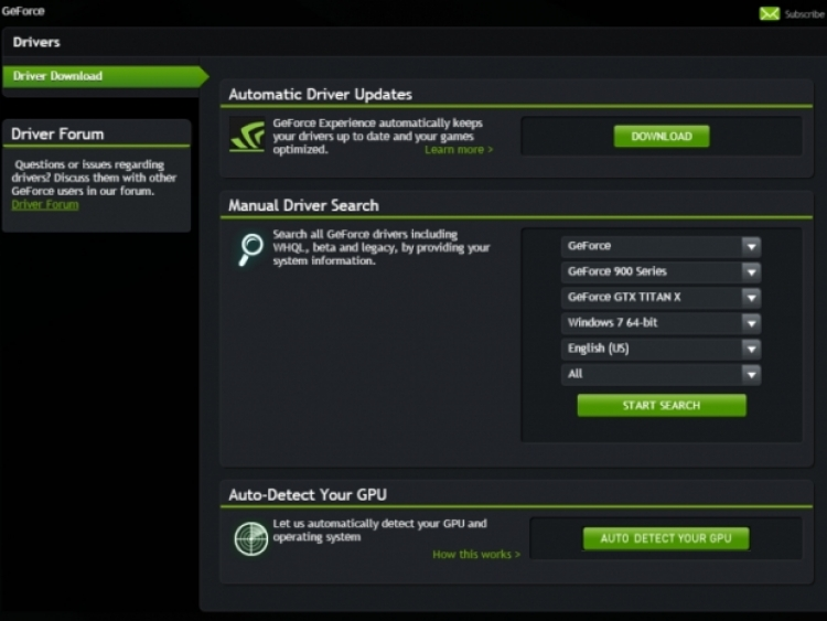 Driver nvidia geforce2 ti