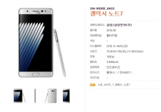 Galaxy Note 7 will have a smaller battery