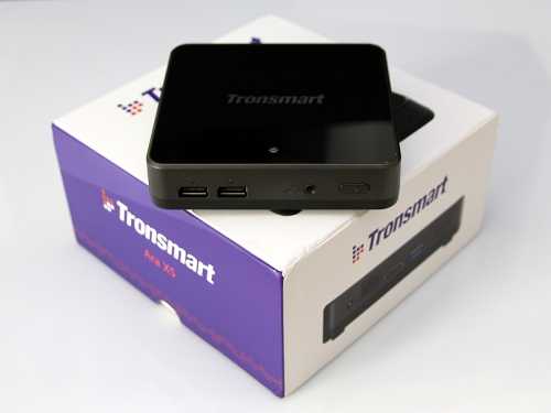 Cherry Trail Atom Z8300 tested in Tronsmart Ara X5 micro PC