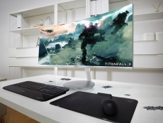 Samsung announces three quantum-dot curved gaming panels