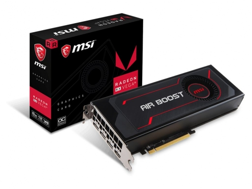 MSI shows off its custom RX Vega 64/56 graphics cards