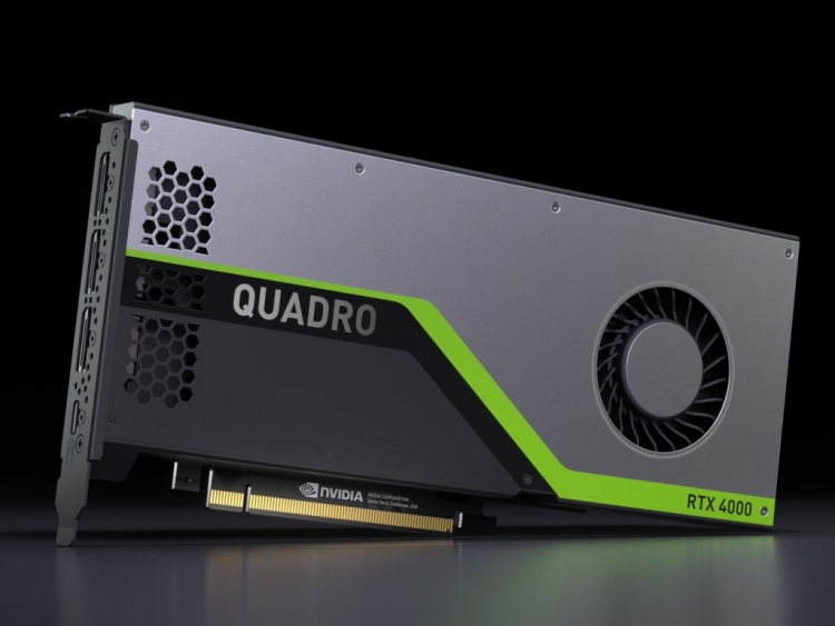 NVIDIA Quadro RTX 4000 Brings Affordable Ray Tracing Horsepower To Workstation Pros