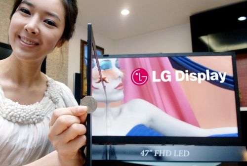 LG Display has largest profit in six years