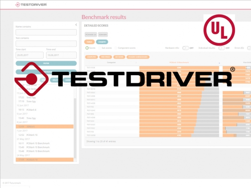 Futuremark and UL unveil Testdriver automation software