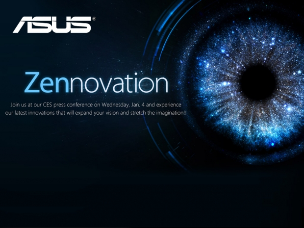 Asus schedules big Zennovation event for CES 2017