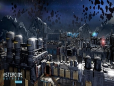 Asteroids going open-world survival MMO
