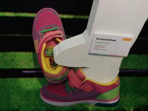 Smart shoes: MediaTek Labs help track your kids