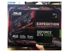 Asus GTX 1050 Ti Expedition pictured ahead of launch