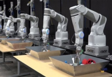 Google abandons robot arm work