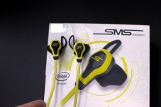 Intel powered IoT SMS Audio headphones shipping