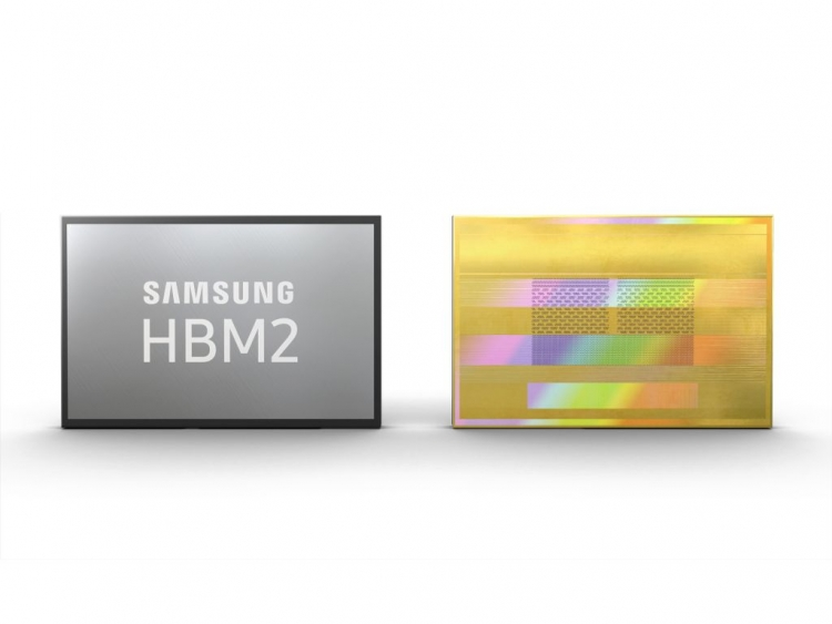 Samsung Starts Volume Production 2.4 Gbps 8GB HBM2 Stacks