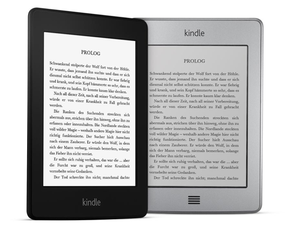 amazon kindlepaperwhite side