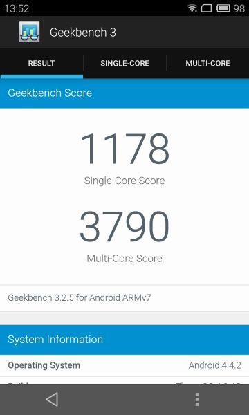 Meizu MX4 scores 51356 in AnTuTu