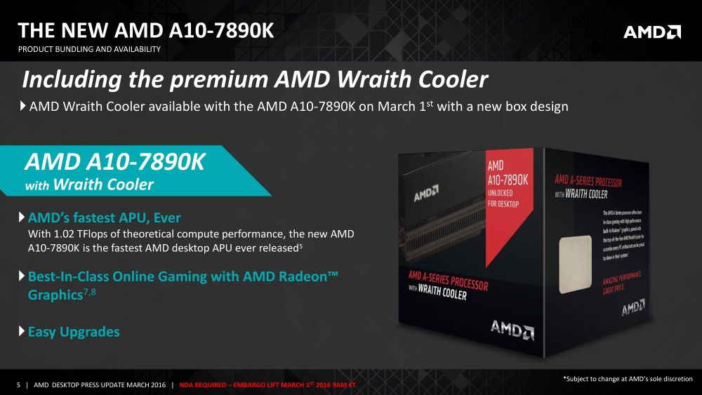 AMD A107890KAthlon880K 1