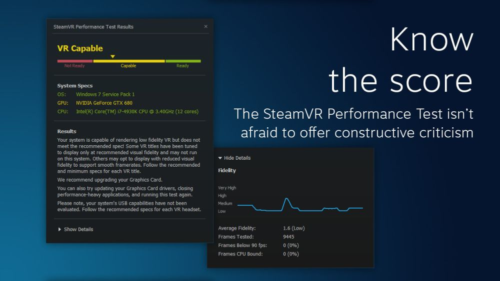 Valve SteamVRPerformanceTest 1