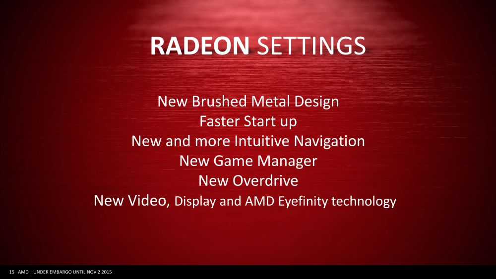 AMD announces new Radeon Software Crimson