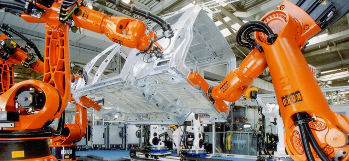 kuka heavy robotic arm controllers
