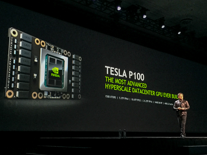 nvidia tesla p100 announcement