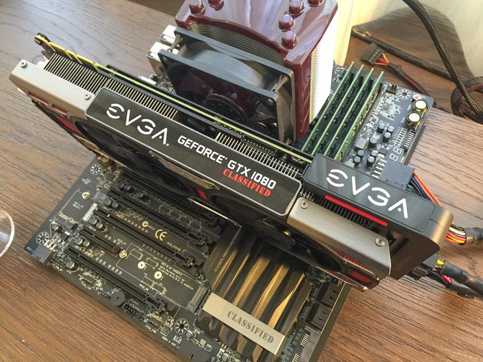 Evga Shows Off Geforce Gtx 1080 Classified And Hybrid Cards
