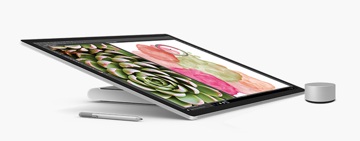 microsoft surface studio tablet mode