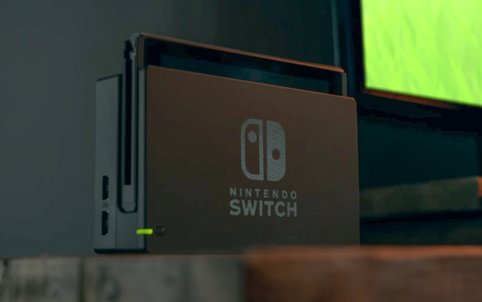 Nintendo announces Switch video game console