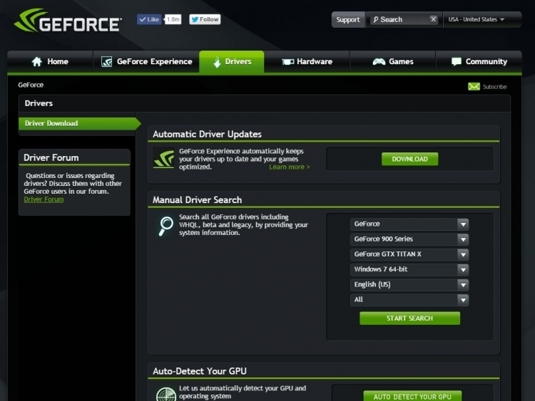Official GeForce Drivers | NVIDIA