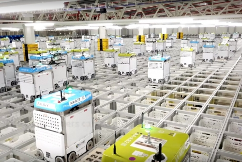 "Ocado plans robotic ""supermarket"""