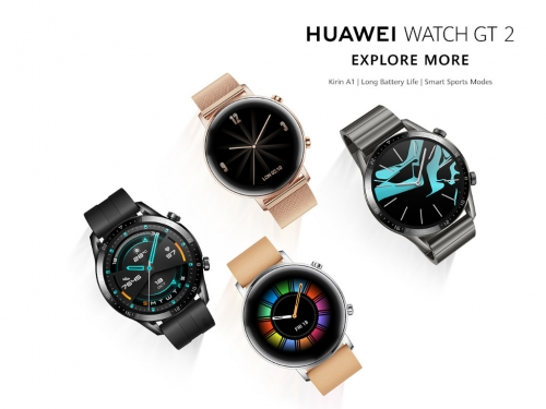 Huawei Watch GT 2 with 14-day battery is out