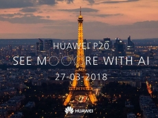 Huawei to announce P20 smartphone(s) on March 27th