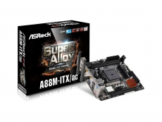 ASRock announces new A88M-ITX/ac motherboard