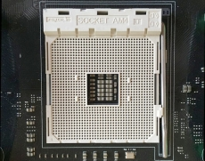 AMD Socket AM4 and Bristol Ridge chip snapped together