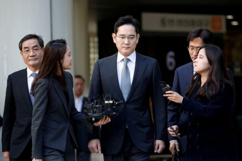 Samsung Electronics vice chairman jailed