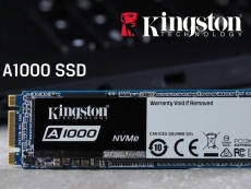 Kingston announces A1000 M.2 PCIe Gen3 x2 NVMe SSDs