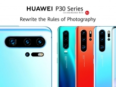 Huawei officially announces its flagship P30 series