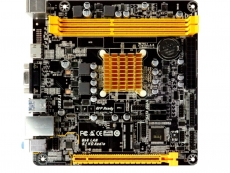 Biostar shows off A68N-2100E SoC motherboard