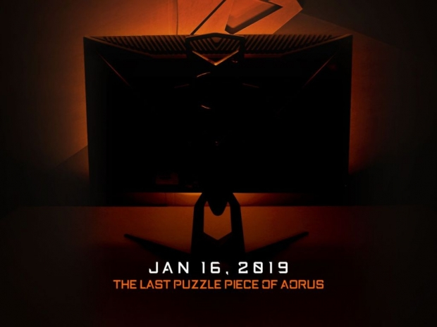 Gigabyte bringing Aorus branded FreeSync monitor to CES 2019
