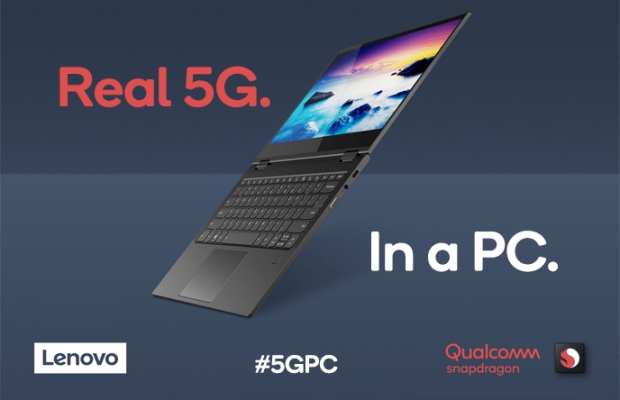Lenovo showcases a 5G Snapdragon 8cx PC