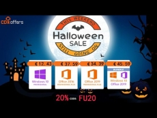 Halloween Sale : Get Windows 10 from only €12, Office 2019 rom €34, And more!