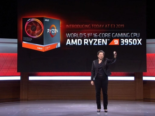AMD unveils 16-core Ryzen 9 3950X gaming CPU