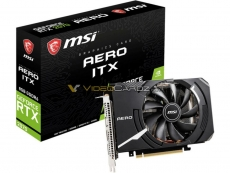MSI's Geforce RTX 2070 Aero ITX spotted online