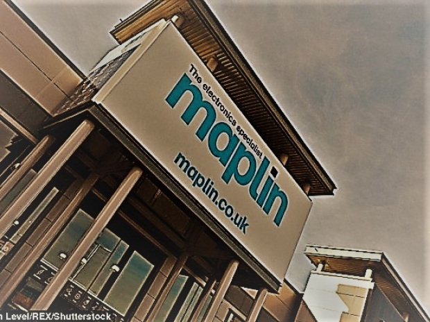 Maplin goes into receivership