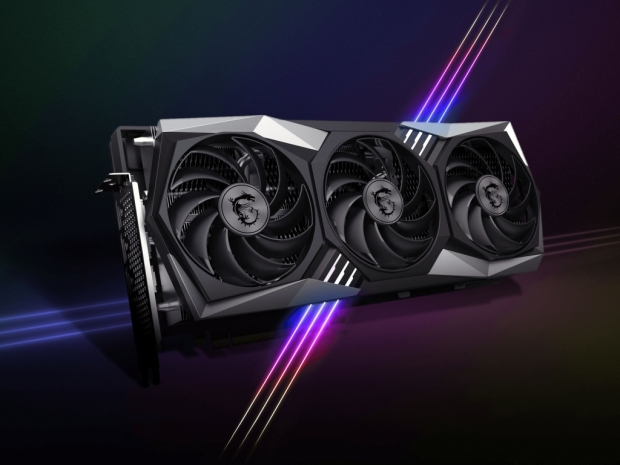 MSI shows off its custom Radeon RX 6000 Gaming X Trio series